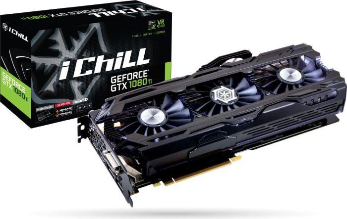 Karta korzysta z najmocniejszego układu - GTX 1080 Ti
