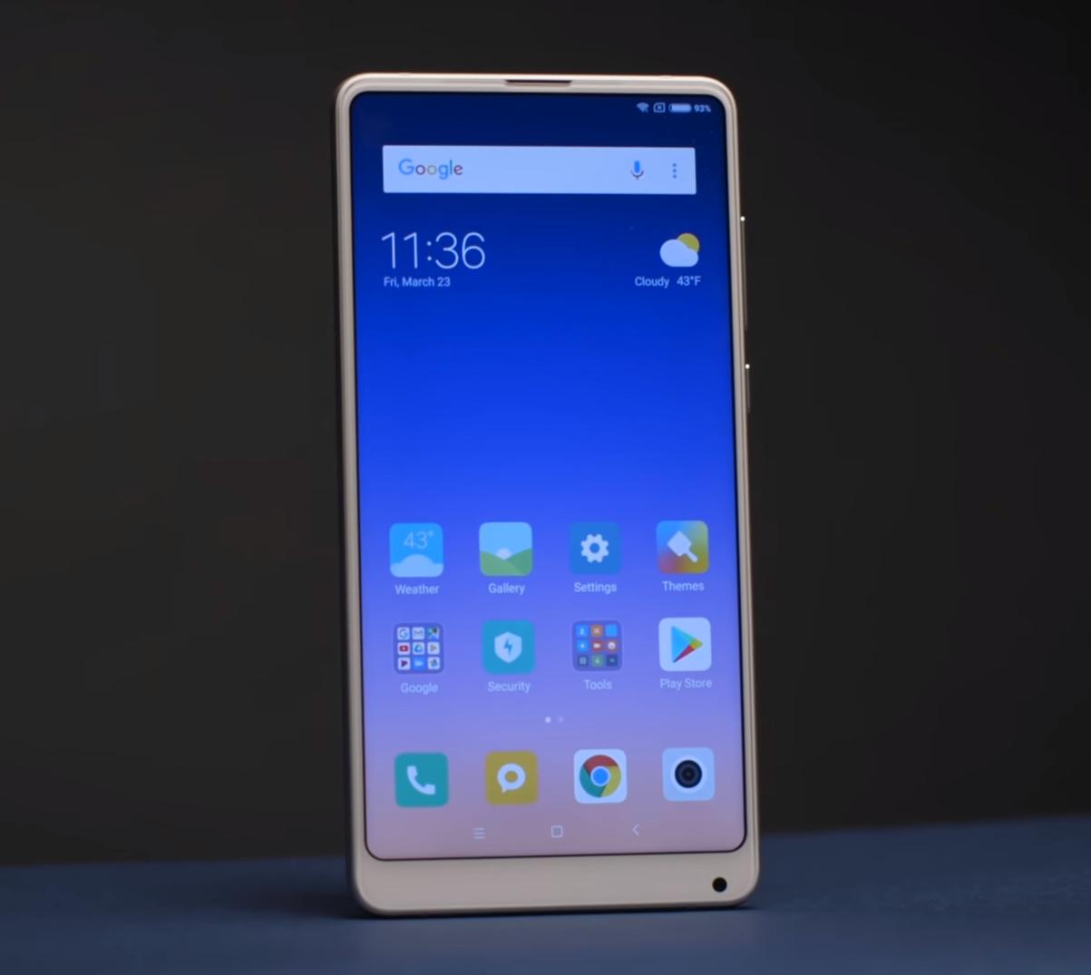 Xiaomi Mi Mix 2S ze sztuczną inteligencją AI