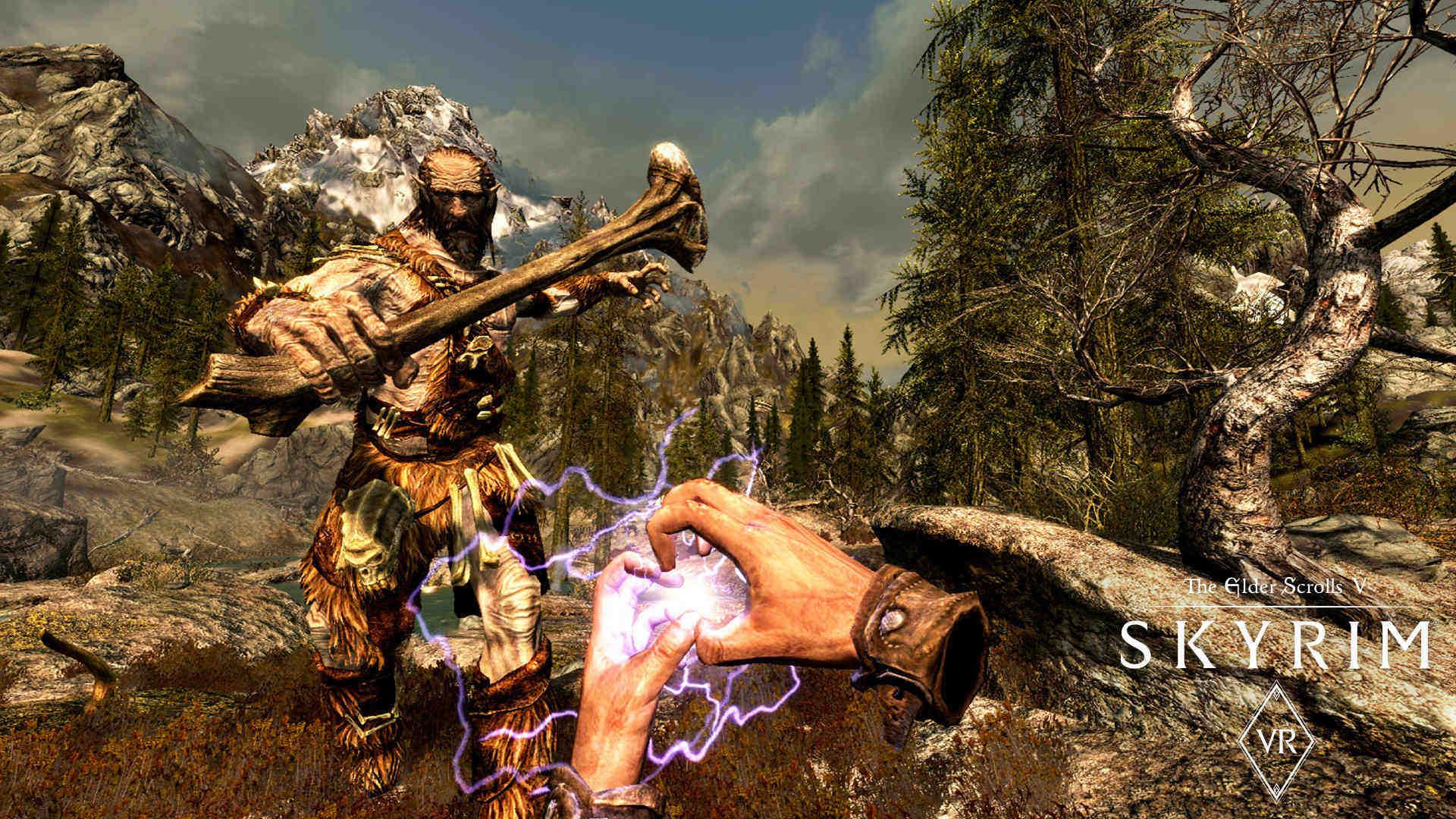 The Elder Scrolls V: Skyrim VR - Czarowanie musi być