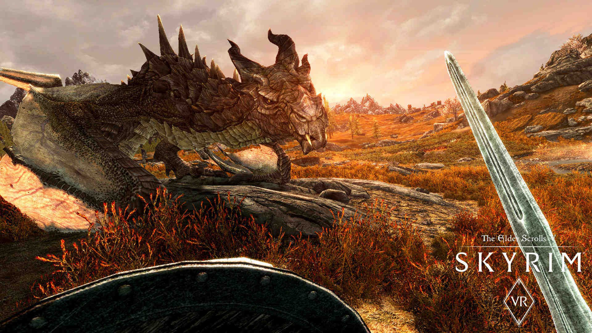 The Elder Scrolls V: Skyrim VR - O jaki ładny smoczek!