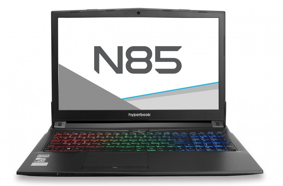 HYPERBOOK N85 [N850HJ] GTX 1050 wygląd