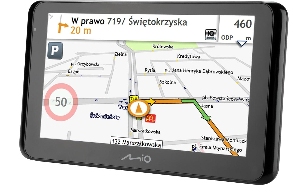 Mio Spirit 8670 EU (5262N5380009) mapa