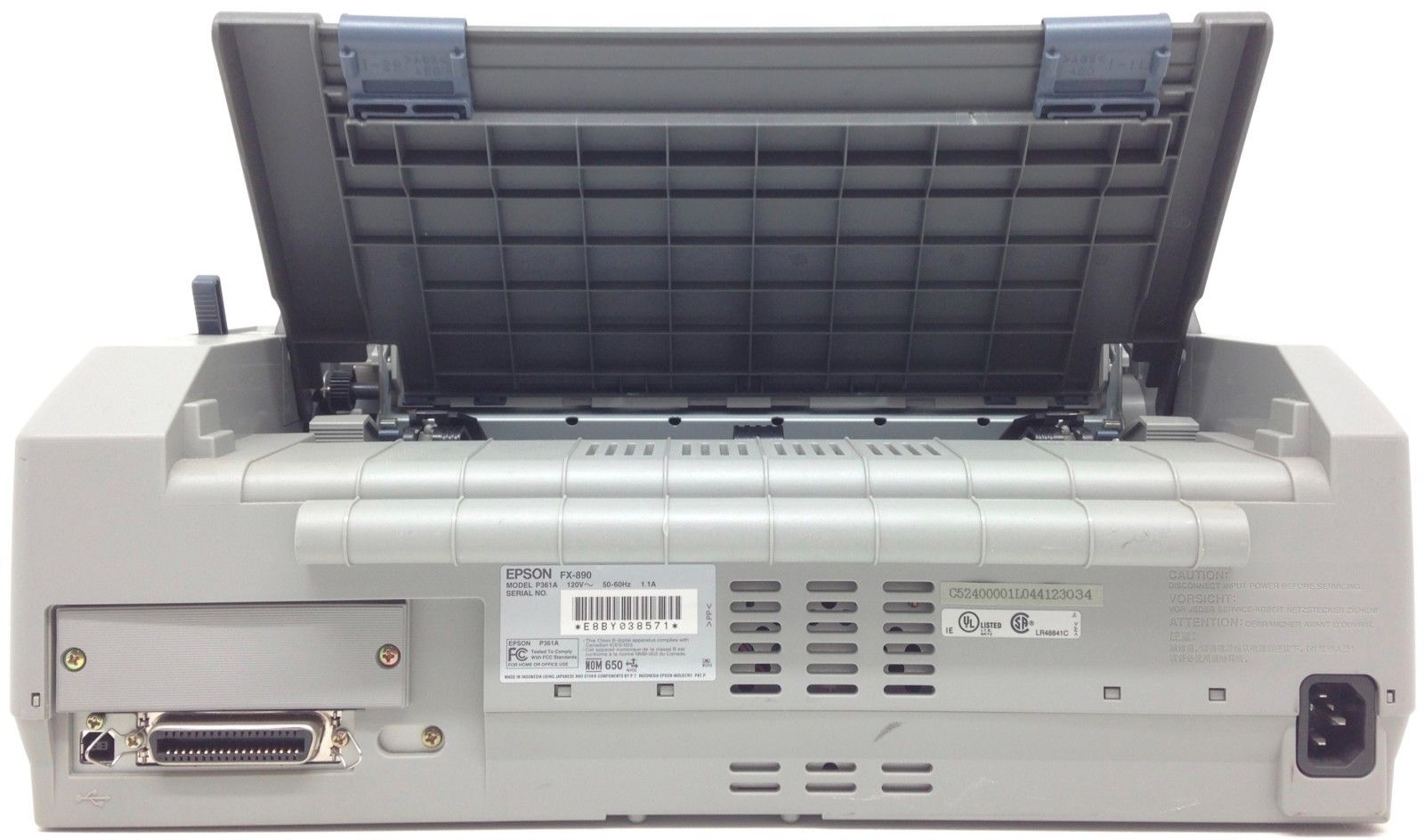 Epson FX-890 tył
