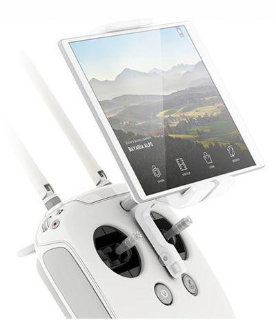 Tak prezentuje się urządzenie sterujące drona.