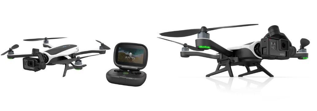 GOPRO KARMA + HERO6 BLACK to ciekawy zestaw dla miłośnika dronów i filmowania.