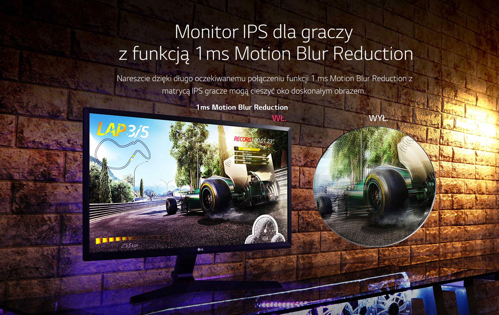 LG 24MP59G-P - monitor dla graczy