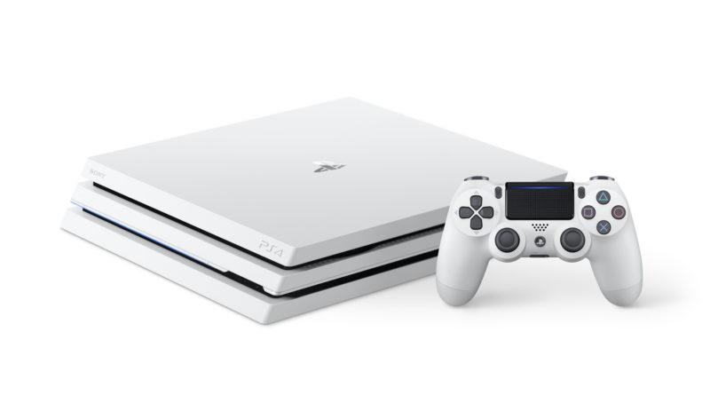 PlayStation 4 Pro białe