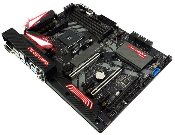 BIOSTAR RACING X470GT8 to gratka dla entuzjastów i overclockerów.