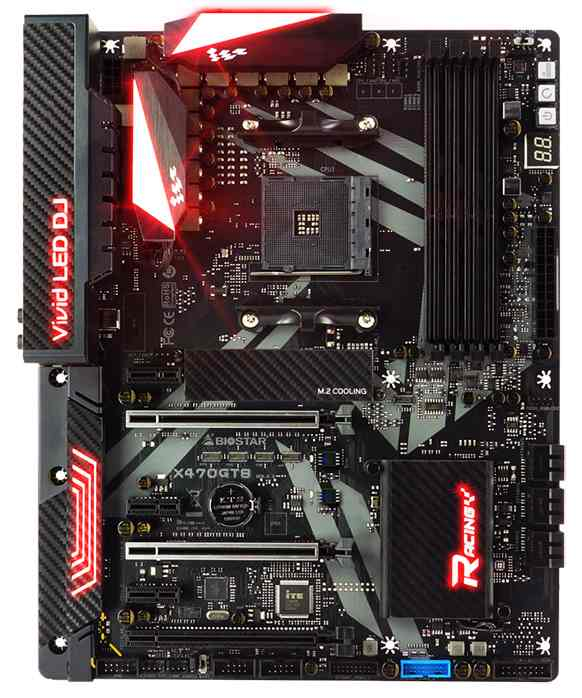 Płyta jest gotowa na przyjęci nowych procesorów AMD.