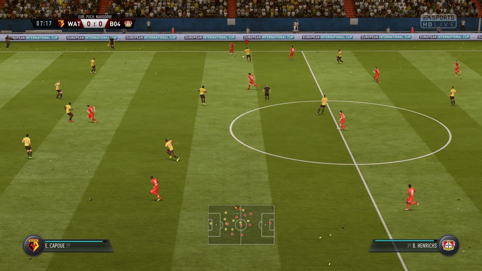 FIFA 18 boisko