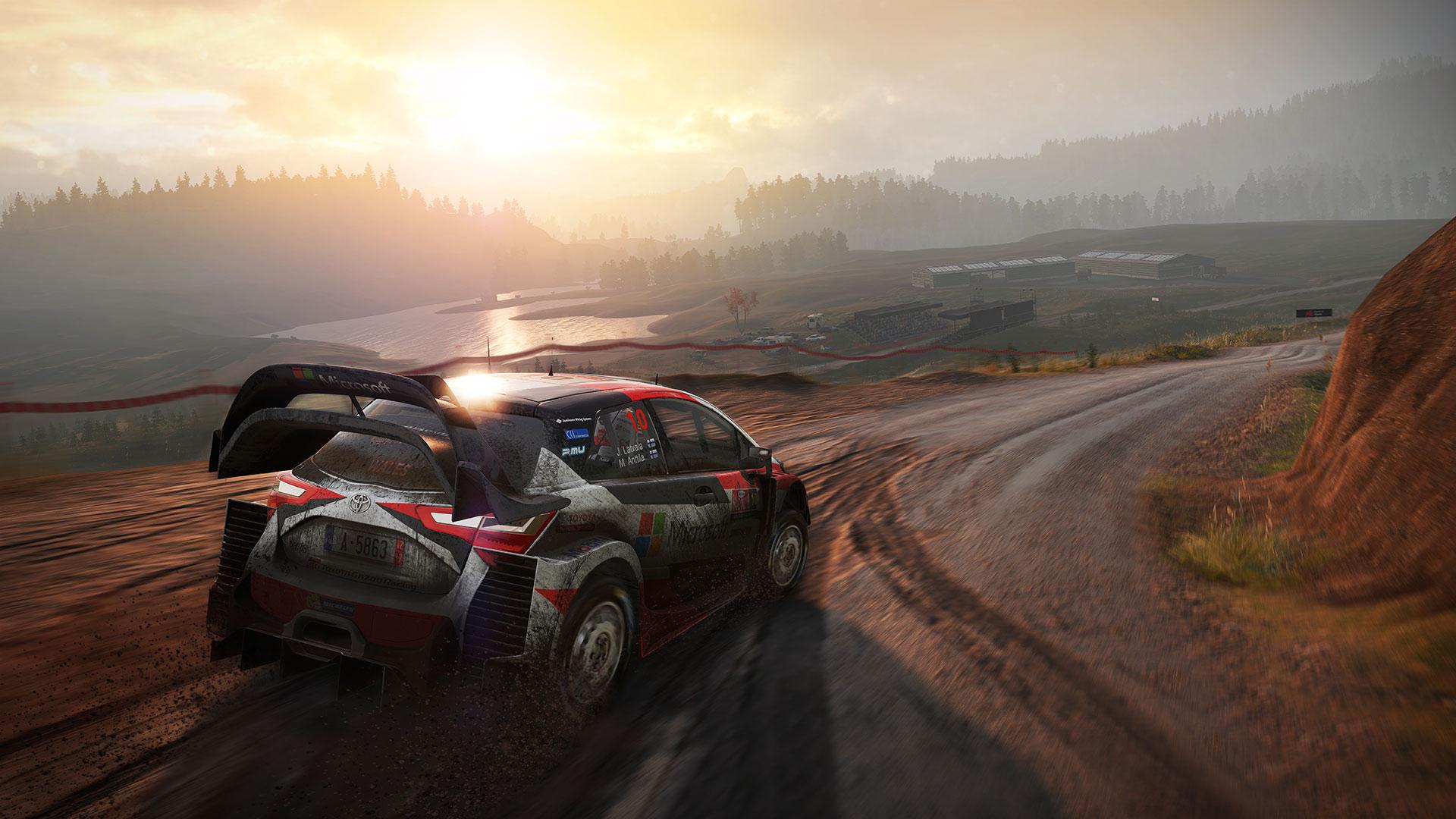 WRC 7 widok z gry