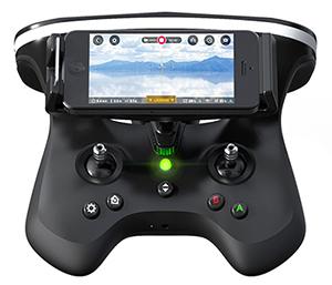 Kontroler do drona Parrot.