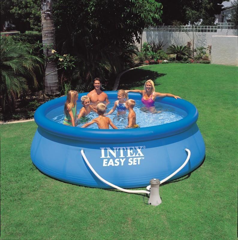 Intex Easy Set Pool 396 x 84 cm 3w1 28142 wygląd