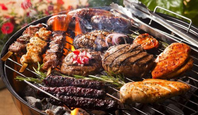 grillowanie mięsa