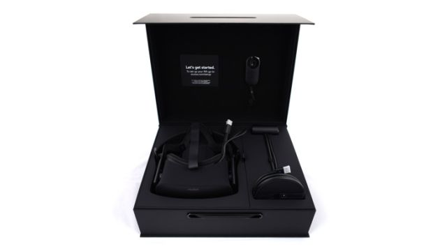 Oculus Rift Cv1 Headset Black nowoczesne gogle wirtualnej rzeczywistości