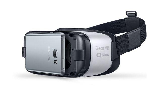 Nowoczesne gogle VR dla urządzeń mobilnych Samsung Gear VR 3