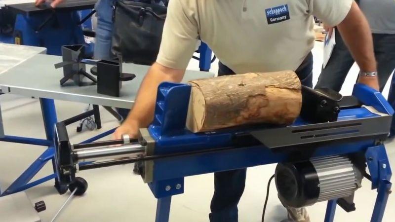 dobra łuparka do drewna Scheppach HL 650