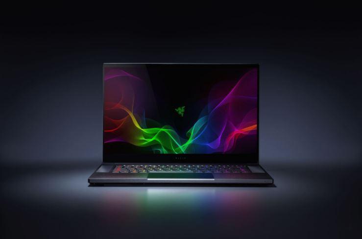 Laptop Razera od frontu.
