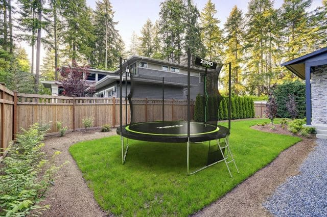 zipro 435 cm w ogrodzie