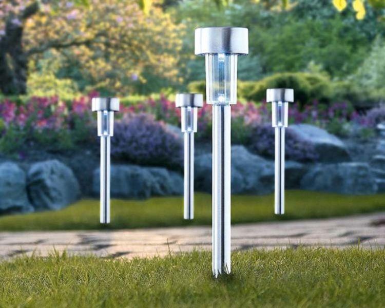 nowoczesne lampy led do ogrodu