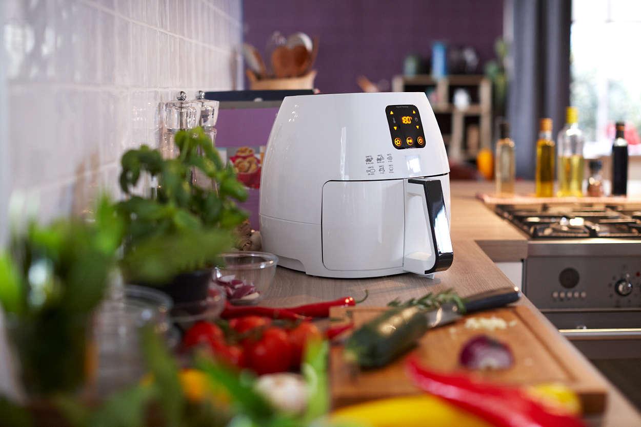 Philips Airfryer HD9240 30 wygląd