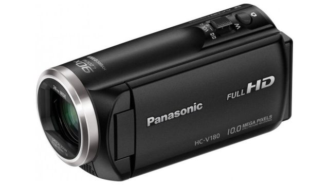 Panasonic HC-V180EP-K wyposażono w matrycę BSI