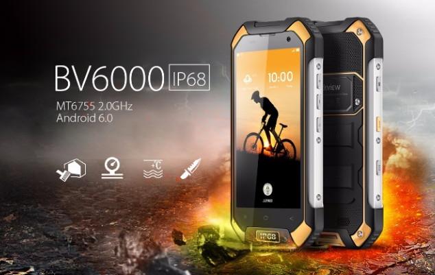 BV6000 to bardzo wytrzymały telefon.