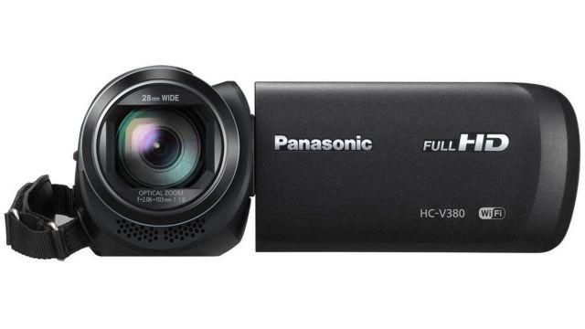 Panasonic HC-V380EP-K posiada 50-krotny zoom optyczny