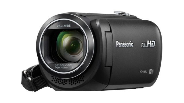 Kompaktowa, amatorska kamera Panasonic HC-V380EP-K