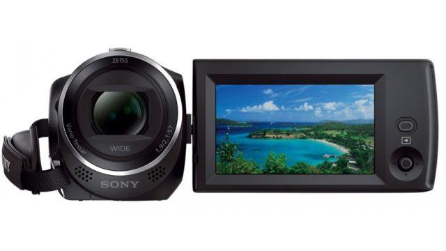 Sony HDR-CX240 to kamera z wydajnym procesorem