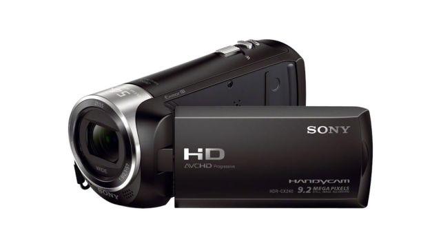 Szerokokątna kamera Sony HDR-CX240