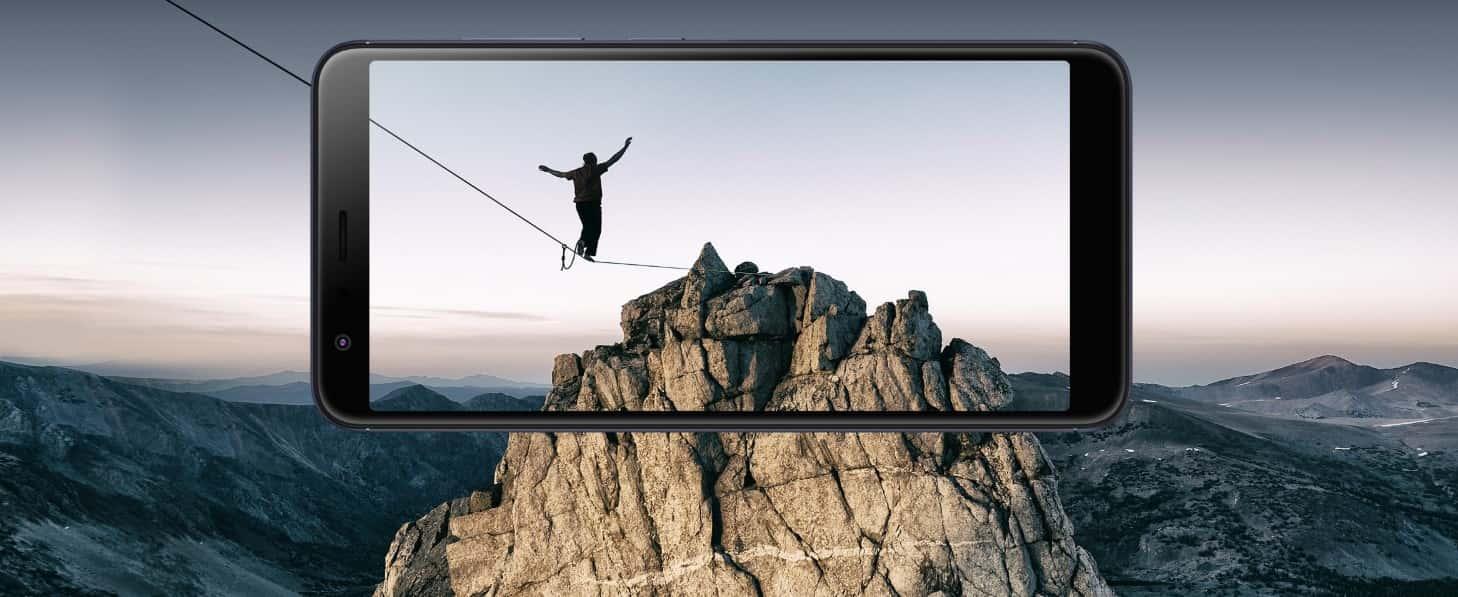 Asus Zenfone Max Plus ekran