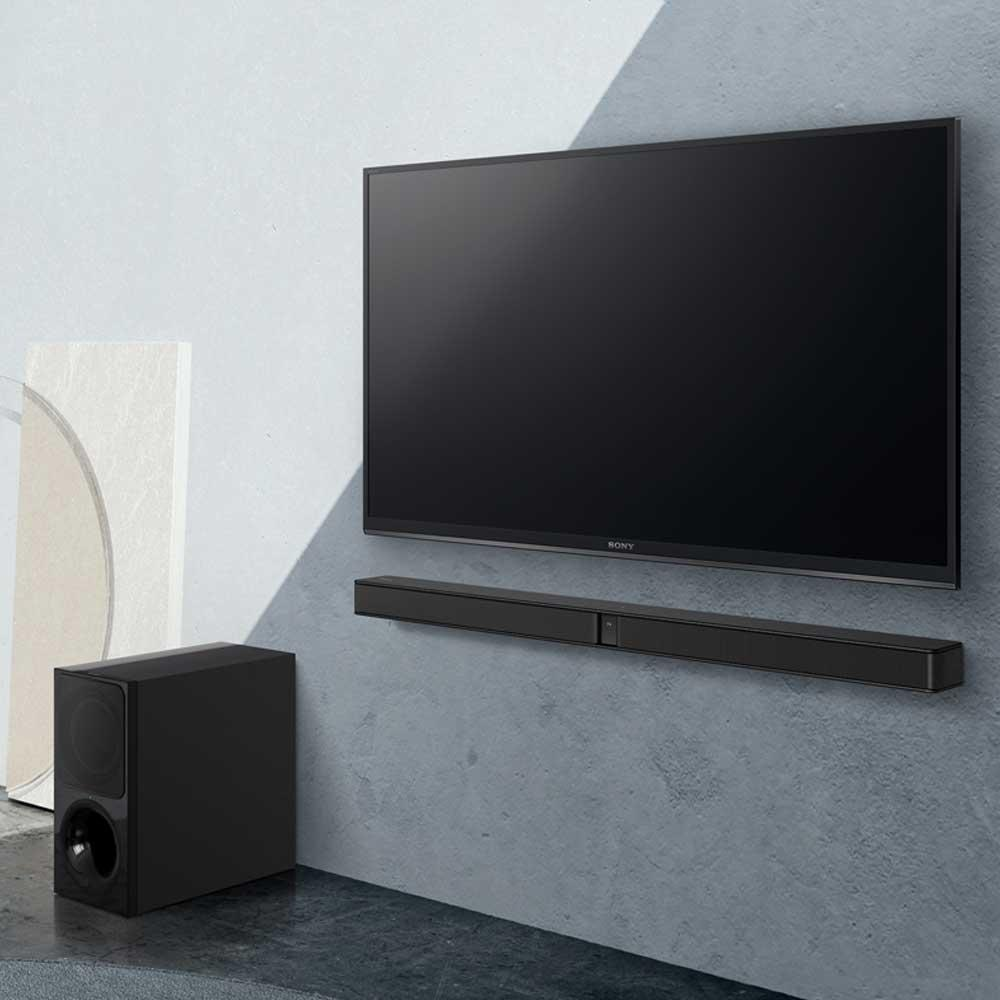 Sony HT-CT290 na ścianie