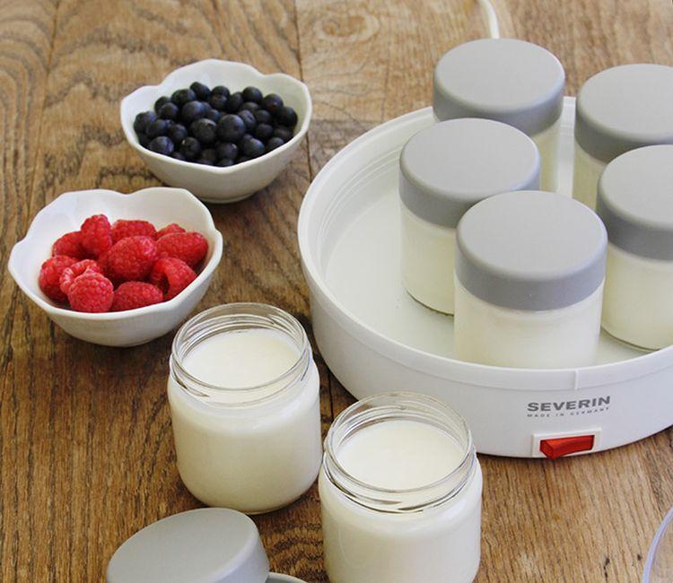 domowy jogurt z owocami