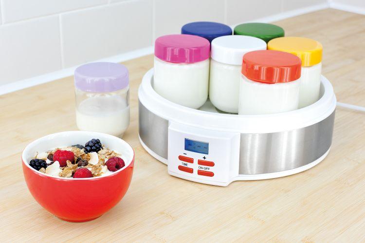 zdrowy jogurt z prostej jogurtownicy
