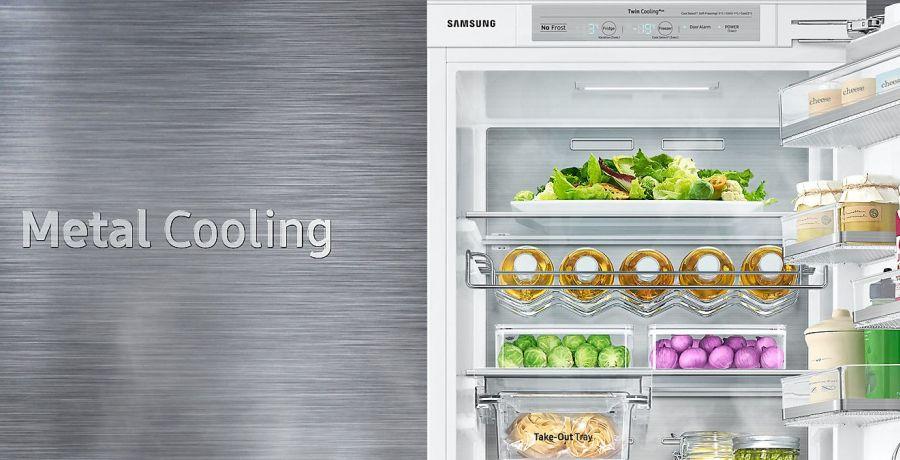 funkcja metal cooling w lodówce samsung