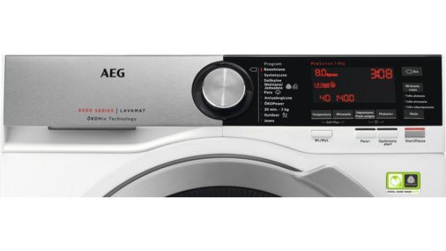 AEG L8FEC68SP ma wiele dedykowanych programów ułatwiających pranie