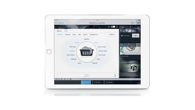 Aplikacja Home Connect do pralki Bosch WAY288H0PL ułatwi sterowanie