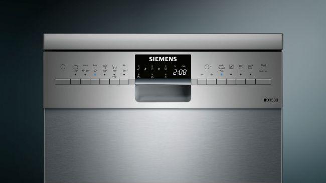 Siemens iQ500 speedMatic SR256I00TE panel sterowania