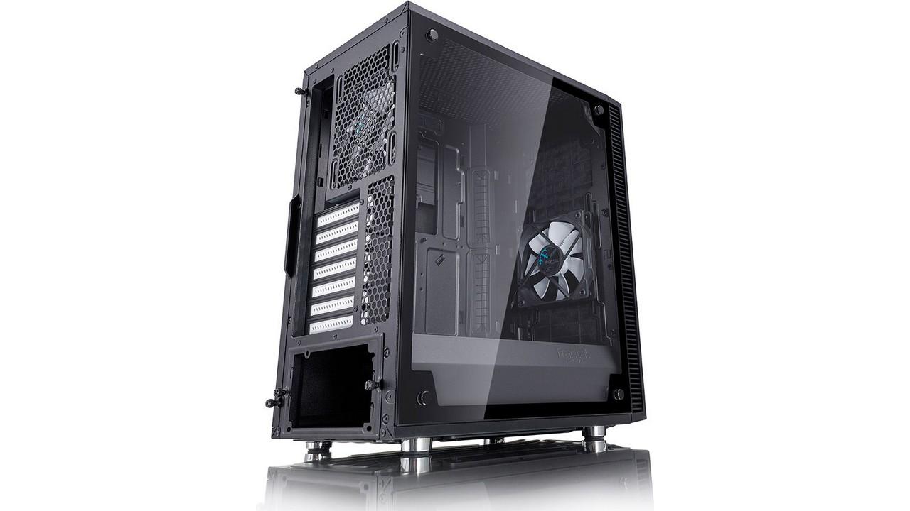 Fractal Design Define C Blackout TG - szkło hartowane