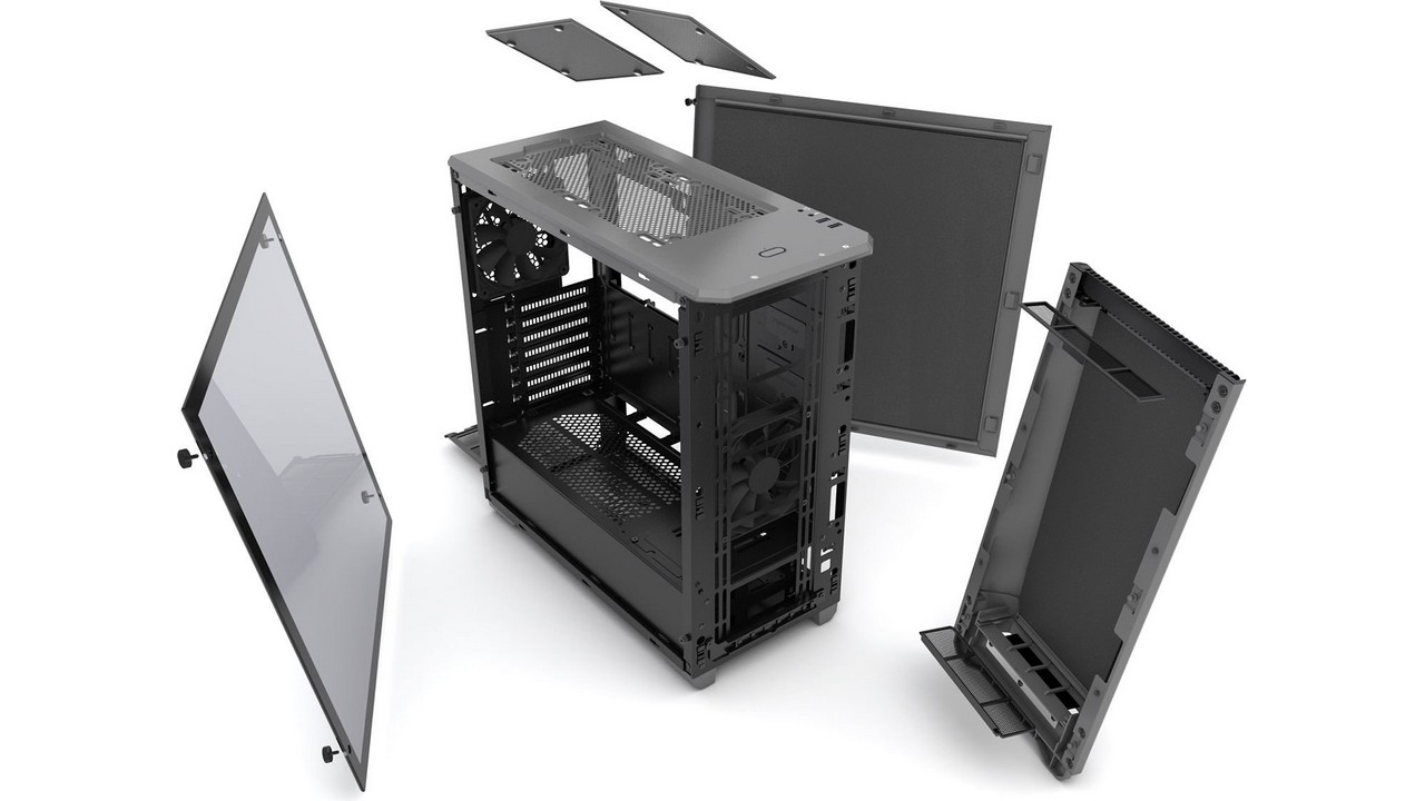 PHANTEKS Eclipse P400S Tempered Glass- środek