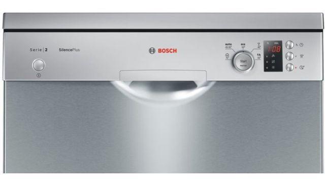 Bosch SMS25AI02E ma bardzo łatwy i intuicyjny panel