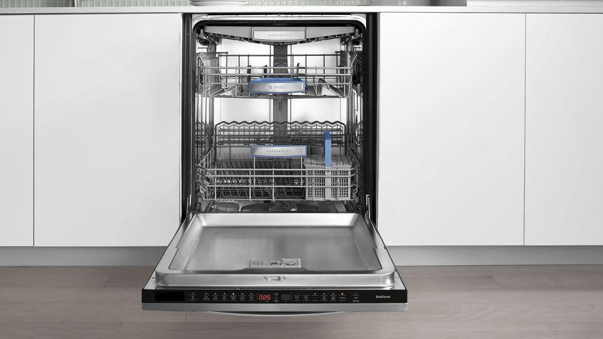 nowoczesna zmywarka zabudowana w kuchni