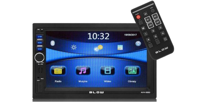 Blow AVH-9880 to radioodtwarzacz umożliwiający połączenie przez bluetooth