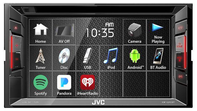 JVC KW-V240BT pozwala na sterowanie głosem poprzez bluetooth