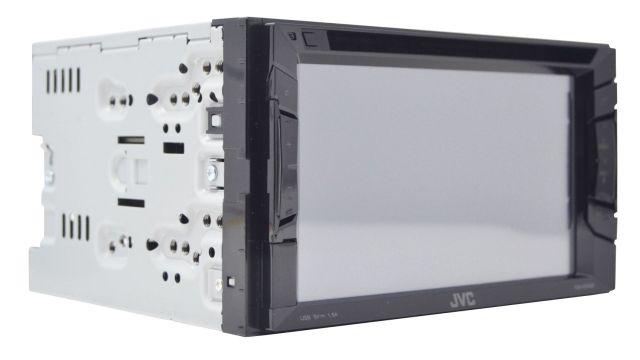JVC KW-V240BT jest wydajnym radioodtwarzaczem z dużym ekranem
