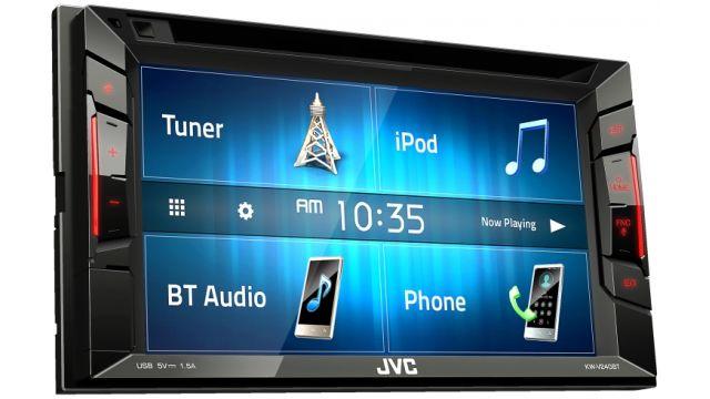 JVC KW-V240BT oferuje wiele opcji w tym świetny odtwarzacz muzyczny