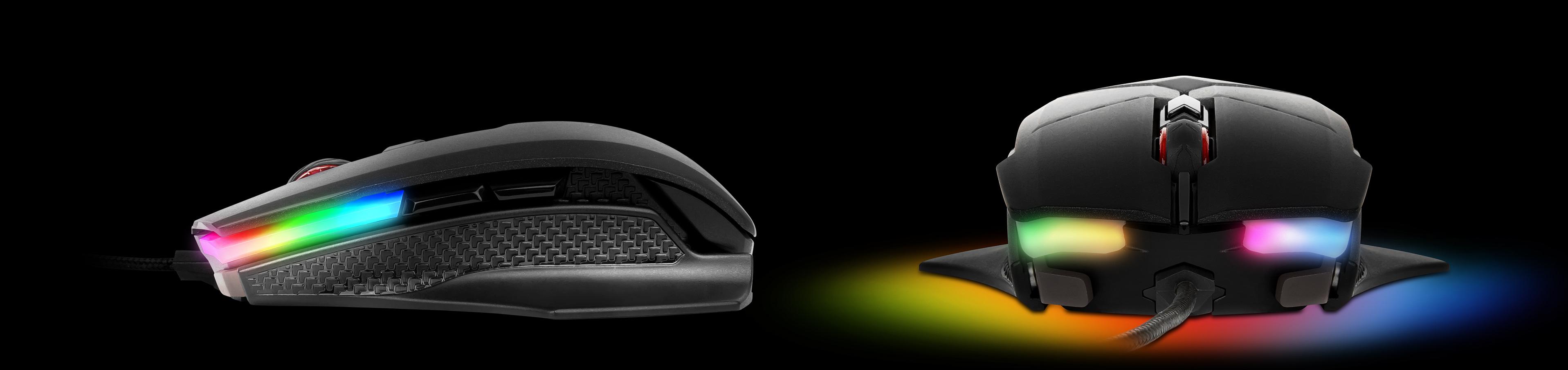 podświetlenia Mystic Light Sync RGB w myszcze MSI Clutch GM60