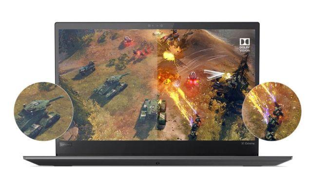 Karta graficzna NVIDIA GeForce zapewnia świętą grafikę w ThinkPax X1 Extreme