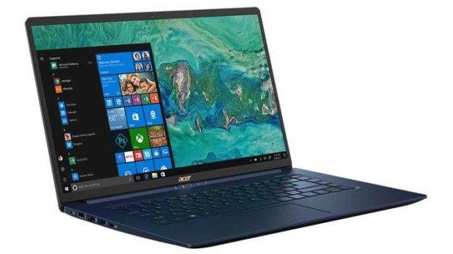 Acer Swift 5 SF515-51T posiada dobre głośniki i szybkie łącze internetowe